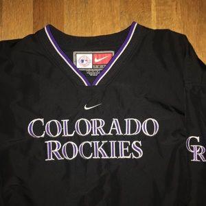 Colorado Rockies Nike Pullover